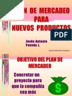 Plan de Mercadeo Para Nuevos Productos