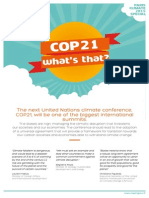 COP21 what's that?