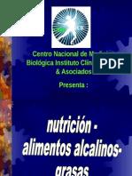 Alimentos y Equilibrio Acido Base