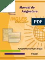 Manual de asignatura Inglés I