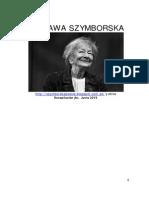 Poesia Szlyborska