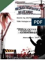 Patologias en La Construccion Completo Ultimo