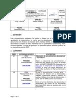 Edicion Control Documentos