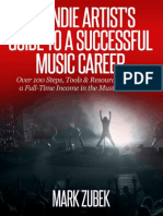 The Indie Artists Guide to a Successful Music Career