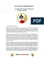 Examen Cinta Amarilla 8vo-Kyu-2015