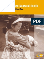 Maternal and Neonatal Health in East and South-East Asia