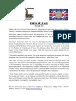 C27 - OLCN Press Release July 29, 2015