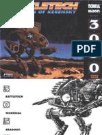BattleTech Technical Readout 3050