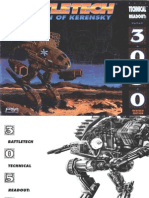 BattleTech Technical Readout 3050