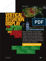 Vertical Situation Display for Improved Flight Safety