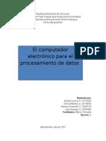 Usos de La Computadora en diferentes areas