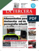Diario La Tercera 30.07.2015