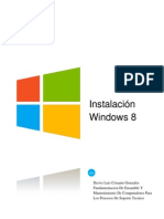 Evidencia Informe Instalacion Windows 8
