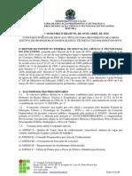 Novo Documento Edital