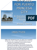 My Plans for Puerto Princesa city
