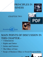 Business Ethics Chapter - 2