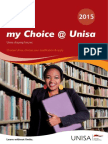 My Choice Unisa 2015