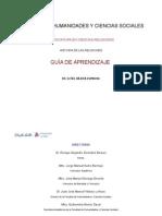 Formato Guía de Estudio 2015 Historia de las religiones