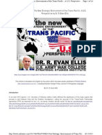 The New Strategic Environment of the Trans-Pacific - A US Perspective - R Evan Ellis.pdf