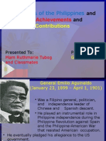 Presidents of the Philippines and Their Achievements And