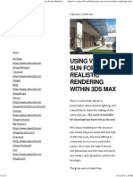 Aleso3d _ Tutorials – 3D Store – Training _ Using Vray Sun for Realistic Rendering Within 3ds Max