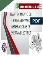 2. Mantenimiento a Turbinas