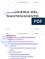 Manual de  Mantenimiento 2012