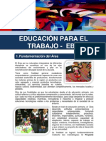 Diseño Curricular Regional – Educación Para El