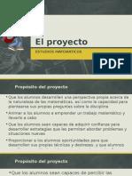 Presentacion de Proyecto 1