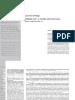 GIANNINI / BARCELÓ El debate sobre la filosofía latinoamericana (Edición a cargo de Cristóbal Friz)
