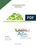 Trabajo de Saneamiento Ambiental.