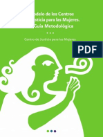 Modelo Centros Justicia de Mujeres