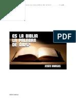 Es La Biblia La Palabra de Dios