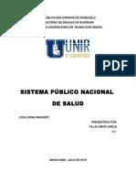 Sistema Público Nacional de Salud