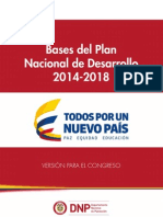 PND 2014-2018 colombia