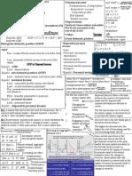 Formula Sheet for Macro