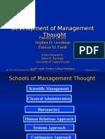 Development of Management
