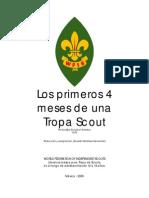221 Los Primeros Cuatro Meses de Una Tropa Scout