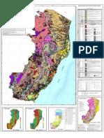 Mapa Geológico do Espírito Santo 2014