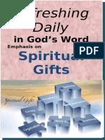 Spiritual Gifts August 2015