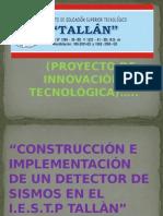 Detector de Sismos .Diapositivas
