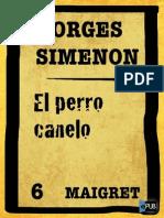 Simenon, Georges - El Perro Canelo