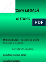 Istoricul medicinei legale