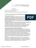 Documental y Periodismo de Investigación