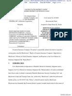 BLACKWATER SECURITY CONSULTING, LLC et al v. WESTCHESTER SURPLUS LINES INSURANCE COMPANY et al - Document No. 68