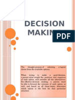 1 Decision Making