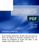 Anlisis Fiscal de La Devaluacin Del Bolvar
