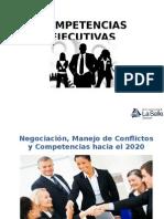 Negociación, Conflictos y Competencias