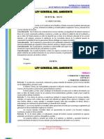 Ley General Del Ambiente Honduras