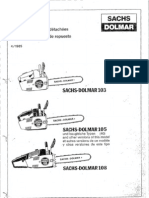 DOLMAR Parts Manual for Chainsaw Models: PS-33 100, 100s
